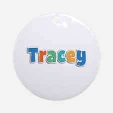 Tracey Spring11B Round Ornament