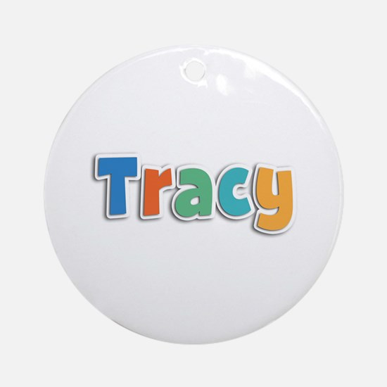 Tracy Spring11B Round Ornament