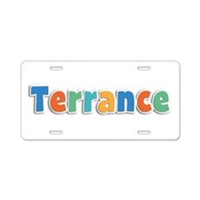 Terrance Spring11B Aluminum License Plate