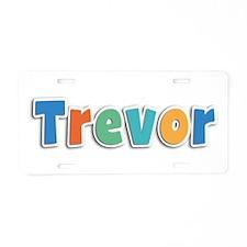 Trevor Spring11B Aluminum License Plate