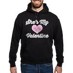 She's My Valentine Hoodie (dark)