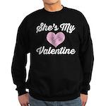 She's My Valentine Sweatshirt (dark)