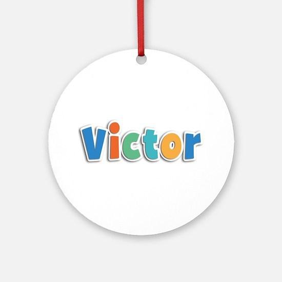 Victor Spring11B Round Ornament