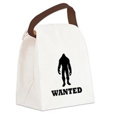 Bigfoot Wanted Canvas Lunch Bag