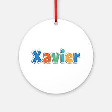 Xavier Spring11B Round Ornament