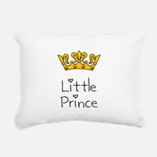 Little Prince Black.png Rectangular Canvas Pillow