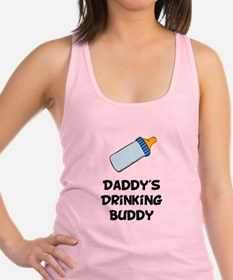 Drinking Buddy Black.png Racerback Tank Top