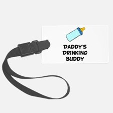 Drinking Buddy Black.png Luggage Tag