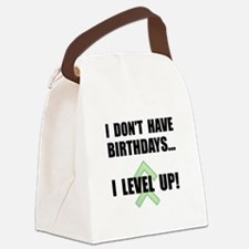 Level Up Birthday Canvas Lunch Bag