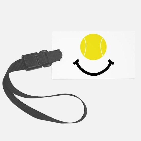 FBC Tennis Smile Black.png Luggage Tag