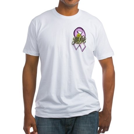 HOPE: Breast Cancer Awareness Fitted T-Shirt
