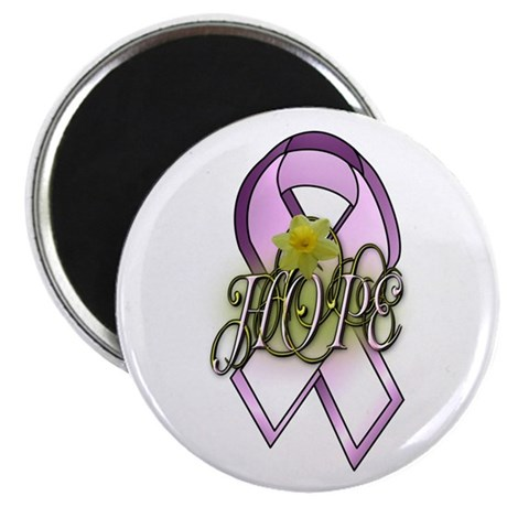 "HOPE: Breast Cancer Awareness 2.25"" Magnet (100 pa"