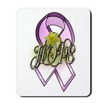 HOPE: Breast Cancer Awareness Mousepad