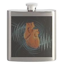Heartbeat, conceptual artwork - Flask