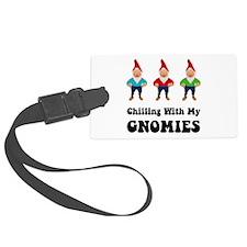 Gnomies Black.png Luggage Tag