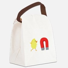 Chick Magnet.png Canvas Lunch Bag