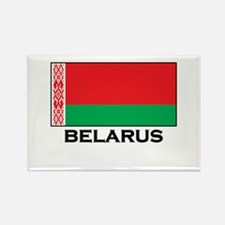 Belarus Flag Stuff Rectangle Magnet