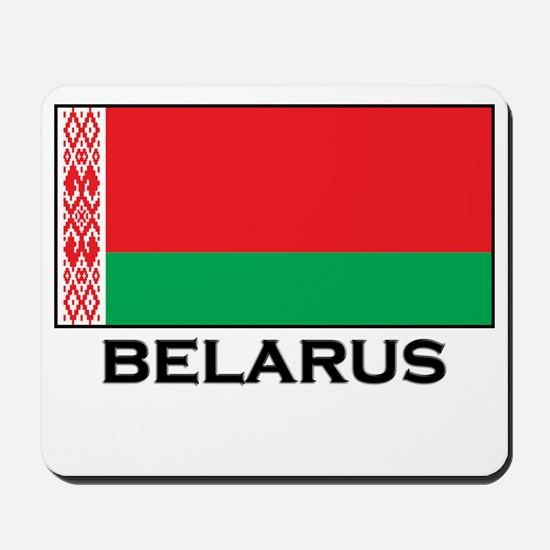 Belarus Flag Stuff Mousepad