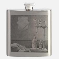 Nitrogen triiodide, 19th century - Flask
