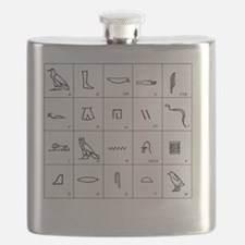 Phonetic Egyptian hieroglyphs - Flask