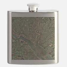 Southampton, UK, aerial photograph - Flask