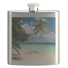 Tropical beach - Flask