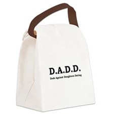 DADD Black.png Canvas Lunch Bag