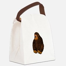Gorilla Brown.png Canvas Lunch Bag
