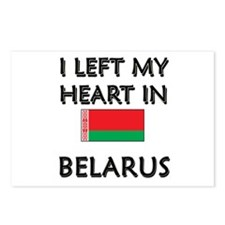I Left My Heart In Belarus Postcards (Package of 8