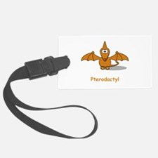 Pterodactyl Brown.png Luggage Tag