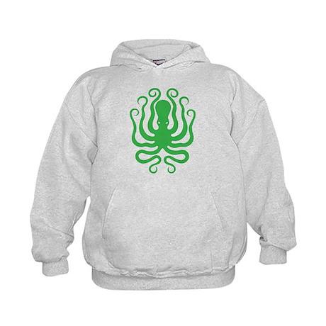 A cool octopus graphic tee t-shirt design Kids Hoo