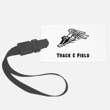 Track Field Black Only.png Luggage Tag