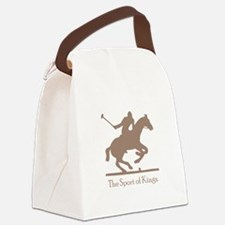 Polo Kings Brown.png Canvas Lunch Bag