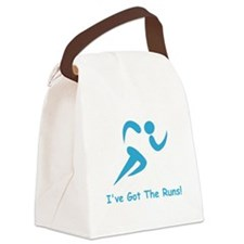 Got The Runs Blue.png Canvas Lunch Bag