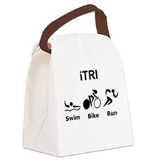 iTRI Black.png Canvas Lunch Bag