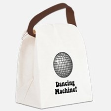 Dancing Machine Black.png Canvas Lunch Bag