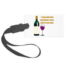 Wine Gold.png Luggage Tag