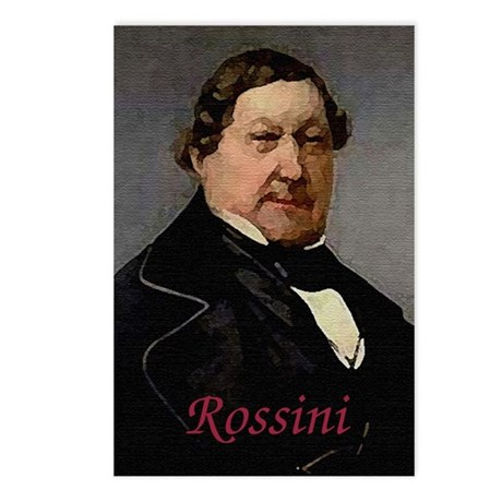 Rossini Postcards (Package of 8)
