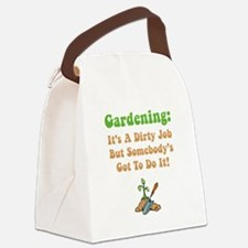 Dirty Job Green.png Canvas Lunch Bag