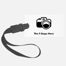 F Stop Black.png Luggage Tag