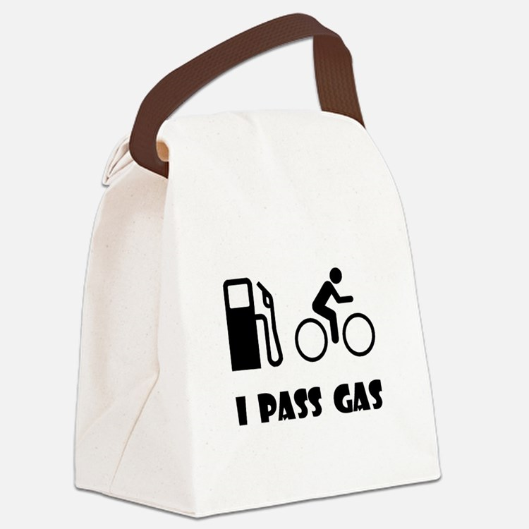 Pass Gas Black.png Canvas Lunch Bag