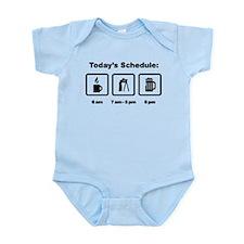 Land Surveying Infant Bodysuit