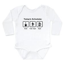 HAZMAT Long Sleeve Infant Bodysuit