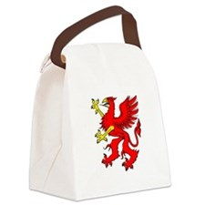 Griffin Red.png Canvas Lunch Bag