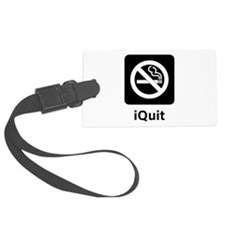 iQuit Black.png Luggage Tag