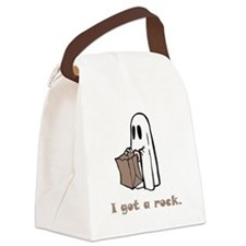 I Got A Rock Brown.png Canvas Lunch Bag