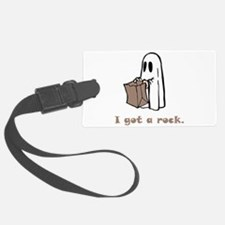 I Got A Rock Brown.png Luggage Tag