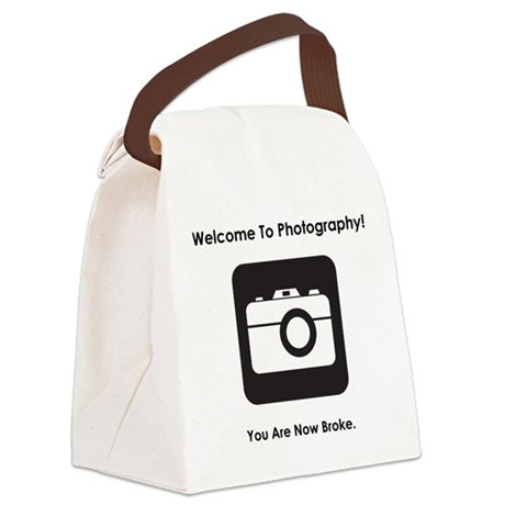 Welcome To Photography! Canvas Lunch Bag