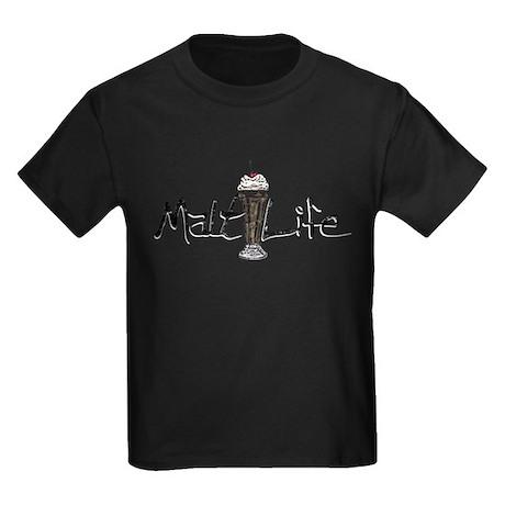 Malt(ed Milk) Life Kids Dark T-Shirt