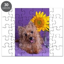 Sunflower Girl Puzzle